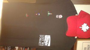 Shirts Hats and Pins available in Club Room