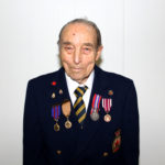 Russell Vanvolkenburgh received a Long Service Award 70 years
