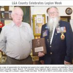 Branch 137 celebrates Legion Week Sep 2016